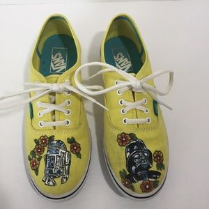 2571ac96e05 Women s Star Wars Vans Shoes on Poshmark